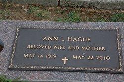 Ann L. Hague