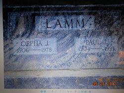 Paul Jonathon Lamm