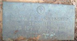 Cecil F Blankenship