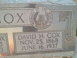 David H Cox