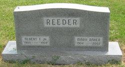 Mary Oma <i>Baker</i> Reeder
