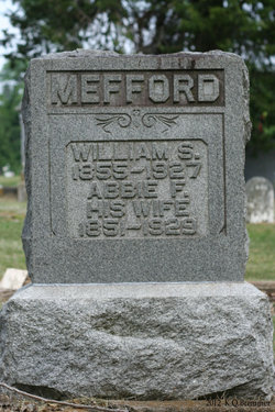 Abbie Frances <i>Webber</i> Mefford