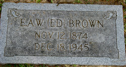 Edwin Arthur Wilborn Brown