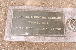 Jerri Sue <i>Pounders</i> Neuhaus