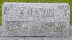 Marion Josephine <i>Baker</i> Belote