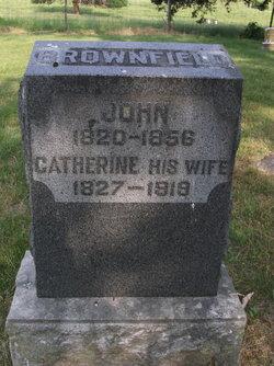 Catherine <i>Brownfield</i> Brownfield