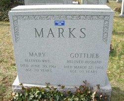 Mary <i>Weiss</i> Marks