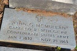 Capt John Gibson McMullan