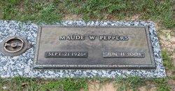 Maude F. <i>Williams</i> Peppers