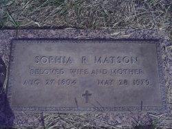 Sophia R Matson