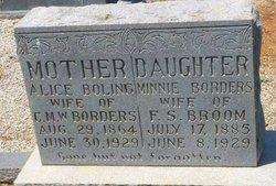 Minnie <i>Borders</i> Broom