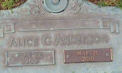Alice G. Anderson