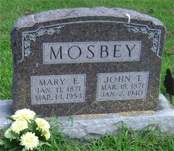 Mary Ellen Ella <i>Jones</i> Mosbey