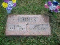 Bertha L <i>Byxbe</i> Jones