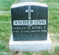 Frances Ethel <i>Farrell</i> Anderson