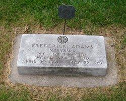Frederick Fred Adams