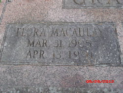 Flora <i>Macaulay</i> Grant