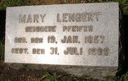 Mary <i>Pfeifer</i> Lengert