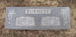 Clara May <i>Huddleston</i> Burnett