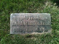 Anna M <i>Gehringer</i> Beckmeyer