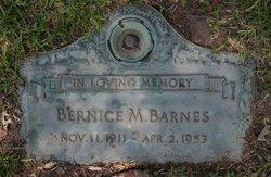 Bernice Maudine <i>Christopher</i> Barnes