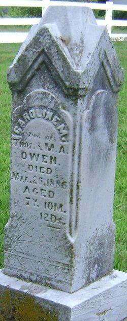 Carolyn M Owen