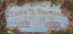 Edith B Baumbach