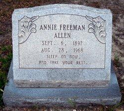 Annie <i>Freeman</i> Allen