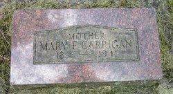 Mary F. <i>Clark</i> Carrigan