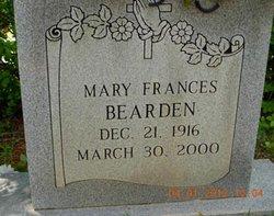 Mary Frances Bearden