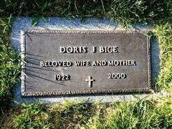 Doris J <i>Bringle</i> Bice