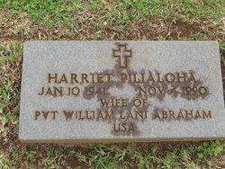 Harriet Pilialoha Abraham