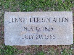 Jennie Herren Allen