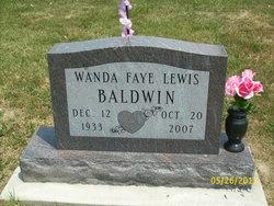 Wanda F. <i>Lewis</i> Baldwin