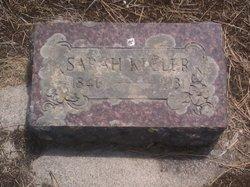 Sarah Sate Elizabeth <i>Cowlin</i> Keeler