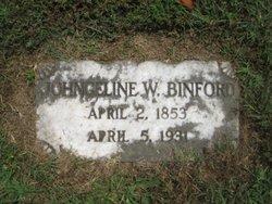 Johngeline Eliza <i>Woolfolk</i> Binford