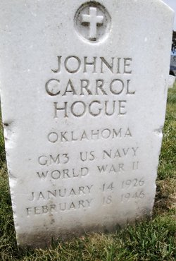 Johnie Carrol Hogue