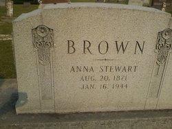 Anna <i>Stewart</i> Brown
