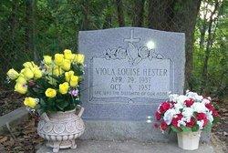 Viola Louise <i>Hudson</i> Hester