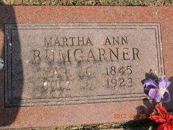 Martha Ann Patsy <i>Upshaw</i> Bumgarner