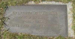 Everett D. Bowman