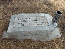 Eva Mae <i>Amos Shanks Shell</i> White
