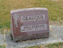 Anna <i>Gebhard</i> Geauque