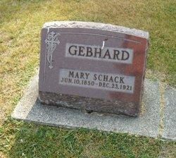 Mary Ann <i>Shack</i> Gebhard