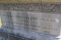 Capt Lorenzo Dow Baker