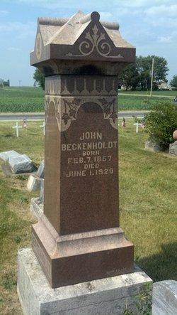John Beckenholdt
