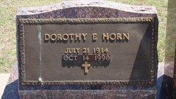 Dorothy Edith <i>Drumm</i> Horn