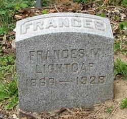 Frances M Fannie Lightcap
