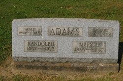Randolph Ralph Adams