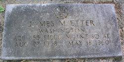 James Marcus Etter